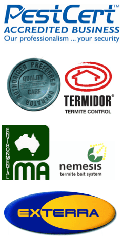 PEST CONTROL ACCREDITATIONS