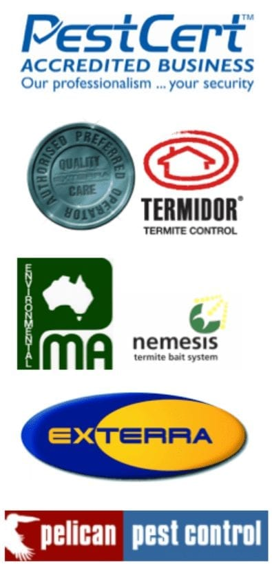 Our Pest Control Accreditations & Qualifications logos